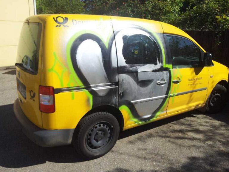 Graffitientfernung und Graffitischutz